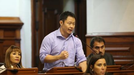Kenji Fujimori denunció que su oficina en el Congreso fue lacrada