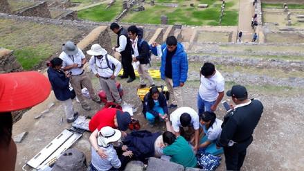 Estadounidense falleció en el parque arqueológico de Ollantaytambo