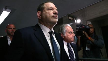 Harvey Weinstein se declaró no culpable de los cargos de violación y abusos sexuales