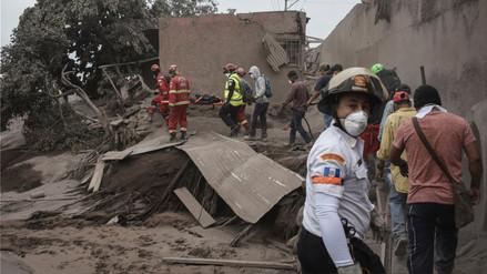 San Miguel Los Lotes, el poblado guatemalteco que fue arrasado por la furia de un volcán