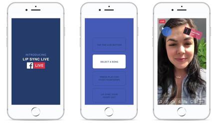 Facebook presenta una opción para cantar en play-back