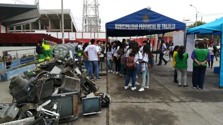 Día Mundial del Medio Ambiente: Realizan campaña para reciclar artefactos en desuso