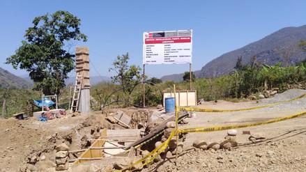 Trabajos para instalar puente en Laquipampa están avanzados