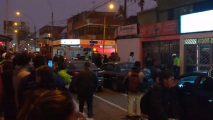 Un muerto dejó balacera entre presuntos delincuentes y policías en San Miguel