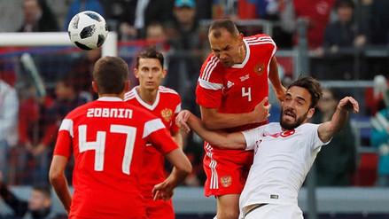 Rusia no pudo con Turquía y empató en su último partido previo al Mundial