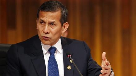 Ollanta Humala defendió las obras de su gestión ante la Comisión Lava Jato