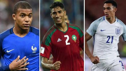 Los futbolistas más jóvenes que jugarán en el Mundial de Rusia 2018