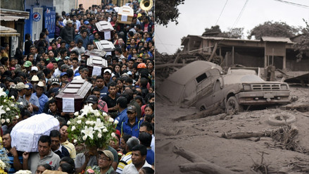 Guatemala busca a las víctimas del volcán de Fuego mientras la cifra de muertos sube a 69