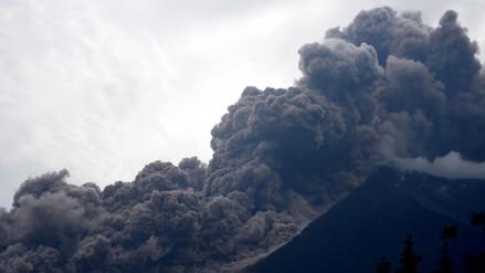 Las fotos que grafican la tragedia en Guatemala por erupción del volcán de Fuego