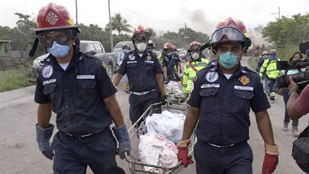 Aumentó a 84 la cifra de muertos tras erupción de volcán de Fuego en Guatemala