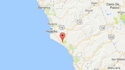 Un sismo de 4.0 grados de magnitud remeció la región Lima esta madrugada