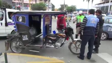 Cerca de 300 mototaxis llevadas al depósito por infringir nuevo anillo vial