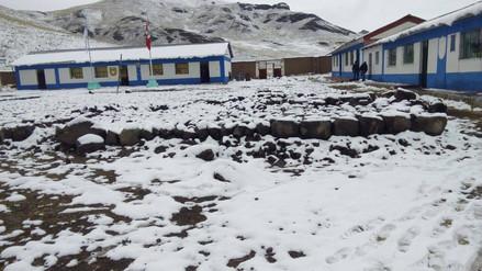 Seis niños murieron por neumonía tras intensas nevadas en Puno