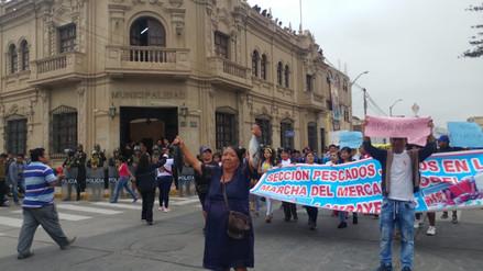 Comerciantes lambayecanos piden postergar remodelación del mercado