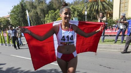 La peruana Kimberly García ganó medalla de oro en su debut en los Juegos Suramericanos