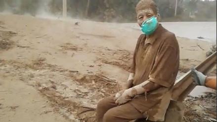 Murió anciano símbolo de la erupción del volcán de Fuego en Guatemala