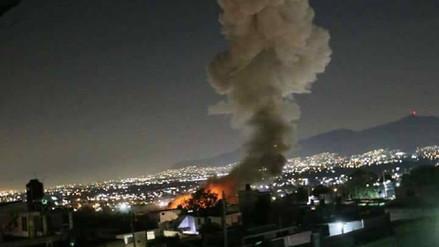 Siete muertos tras una explosión de juegos pirotécnicos en México