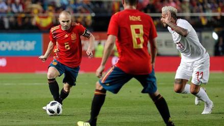 Iniesta dejó abierta la posibilidad de seguir jugando por su selección tras el Mundial