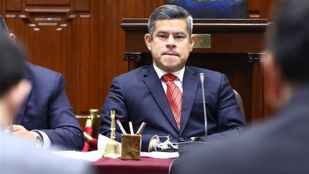 Pleno del Congreso rechazó admitir a debate la moción de censura contra Luis Galarreta