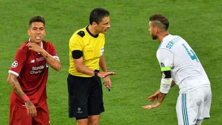Roberto Firmino disparó contra Sergio Ramos:
