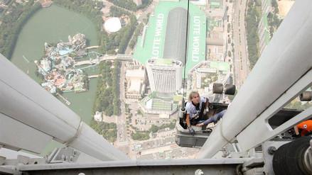 El 'Spider-Man francés' fue detenido en Seúl mientras escalaba un rascacielos