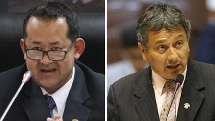 Así respondieron Ramírez y Bocángel a imputaciones para su desafuero