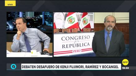 Mauricio Mulder sobre votación por desafuero: Kenji es el jefe de ese grupo y su defensa fue débil