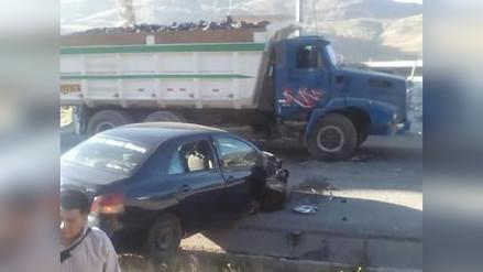 Personal de salud herido tras accidente en Otuzco