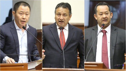 Estos son los accesitarios que reemplazarán a Fujimori, Bocangel y Ramírez