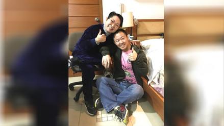 Kenji Fujimori compartió imagen junto a su madre tras ser suspendido