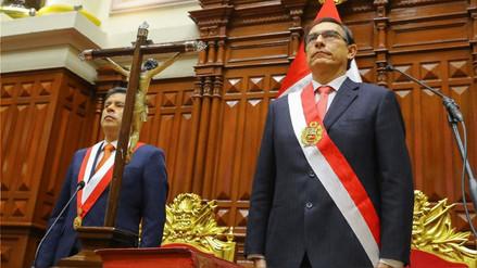 La desaprobación de Vizcarra pasó de 19% a 44% y la de Galarreta llegó a 71%, según Datum
