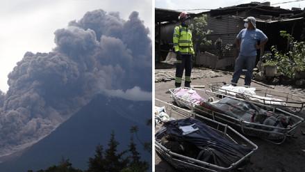 Aumentan a 109 los muertos por violenta erupción volcánica en Guatemala