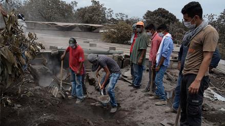 Guatemala pide ayuda internacional luego de 96 horas de la erupción volcánica