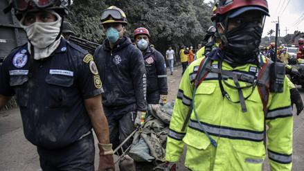 Autoridades suspenden la búsqueda de desaparecidos por erupción de volcán en Guatemala