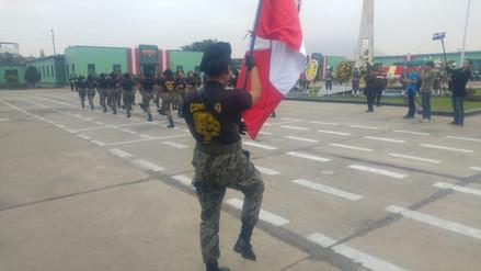 Ceremonia por Día de la Bandera se realizó en cuartel del Ejército