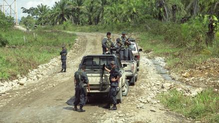 Al menos cuatro policías muertos deja una emboscada terrorista en Huancavelica