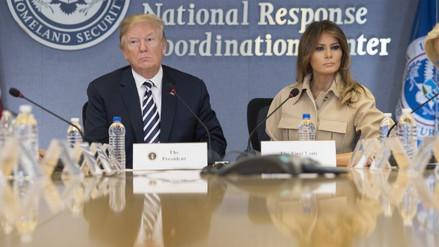 Trump cuestionó a los medios que especulan con la salud de su esposa