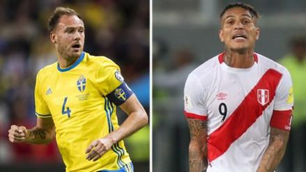 El capitán de Suecia criticó a Paolo Guerrero por su participación en el Mundial