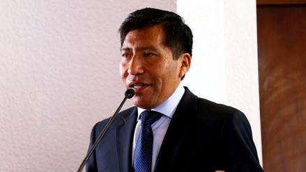 Mamani asegura que varios congresistas de Fuerza Popular no están de acuerdo con la suspensión a Kenji Fujimori