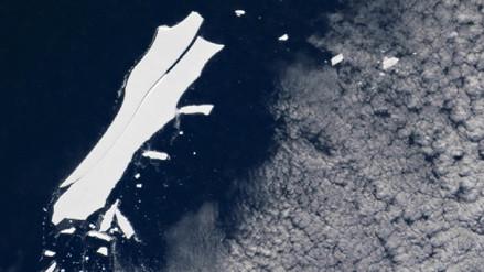 El mayor iceberg desprendido de la Antártida está a punto de desaparecer