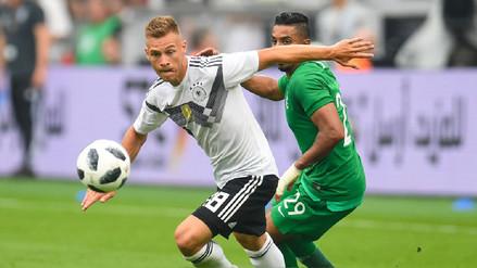 Alemania venció a Arabia Saudita y quedó lista para su debut en Rusia 2018