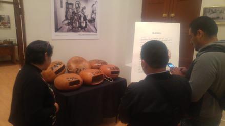 Instrumentos del museo Afroperuano de Zaña son exhibidos en Chiclayo