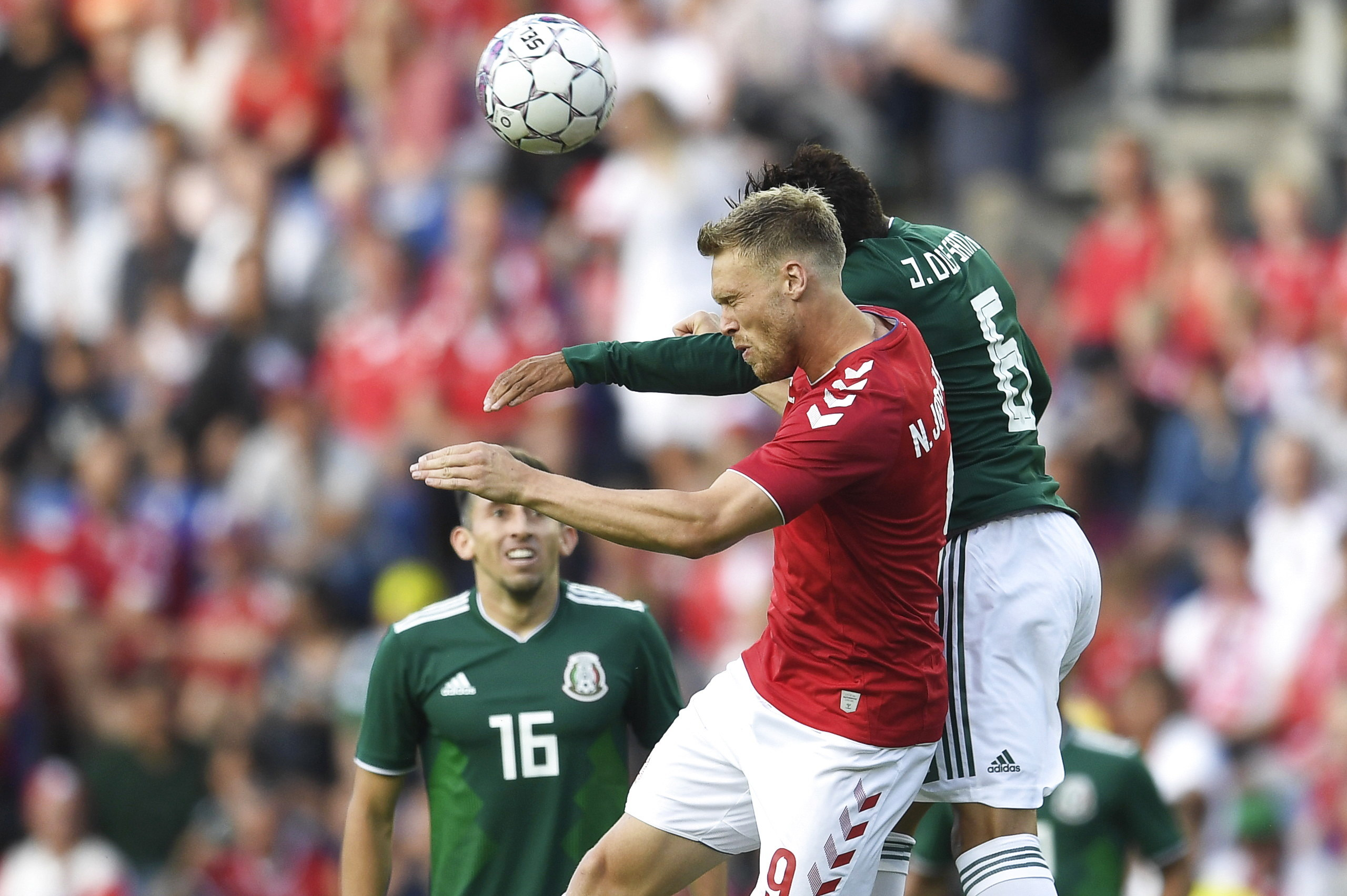 Dinamarca enfrenta a México en su último partido antes de Rusia 2018
