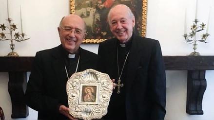 Cipriani y  Barreto se reunieron para celebrar la designación de otro cardenal para Perú
