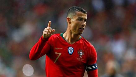 Cristiano Ronaldo llegó a los 150 partidos con Portugal