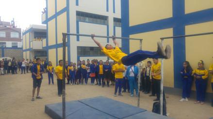 Piden a autoridades implementar un gimnasio en colegio de Trujillo