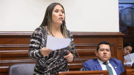 """Vilcatoma denunció a Quintanilla ante la Comisión de Ética por llamarla """"Yayita"""