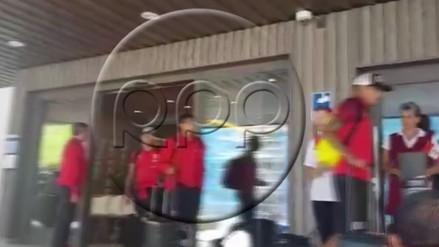 La Selección Peruana partió rumbo a Suecia para su amistoso del sábado