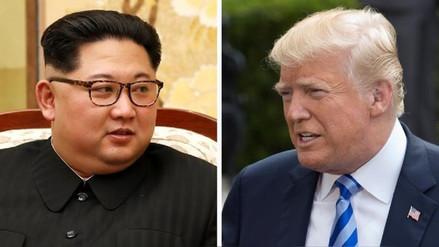 Donald Trump partió a Singapur para reunirse con Kim Jong-un