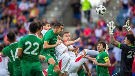 Serbia goleó 5-1 a Bolivia en su último amistoso previo al Mundial